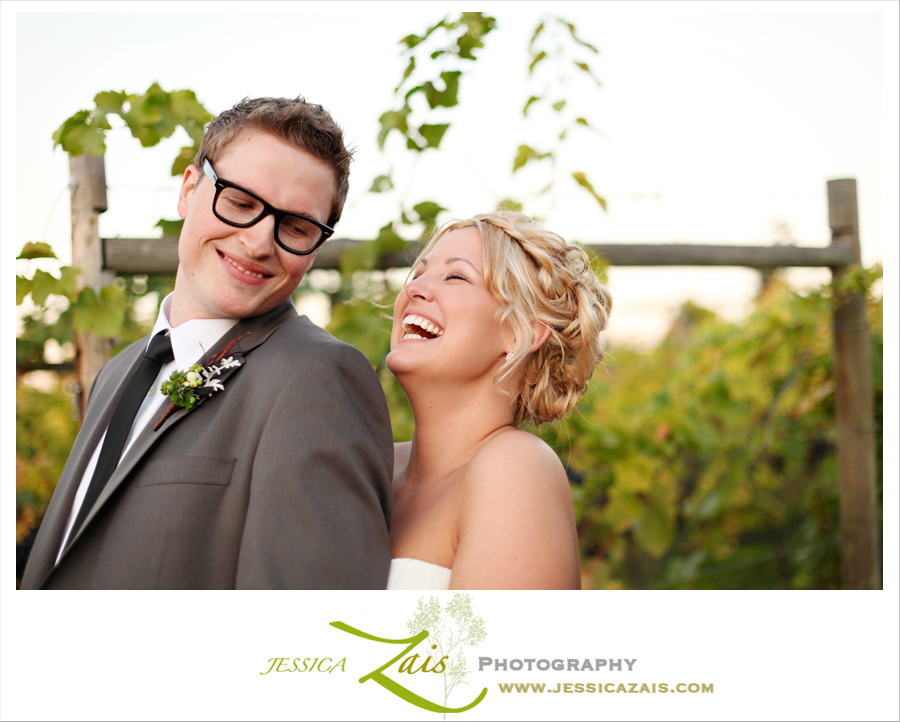 Kelowna, BC, Winery Wedding