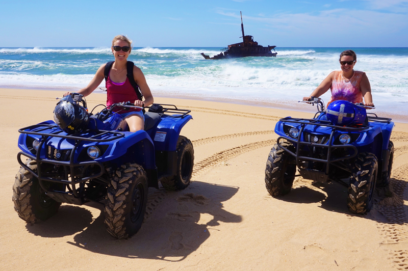 Port Stephens Australia quad bike sand dunes