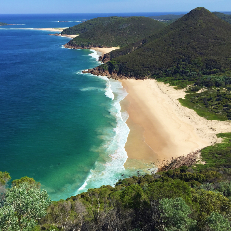 Tomaree Head Summit Walk, Port Stephens Australia