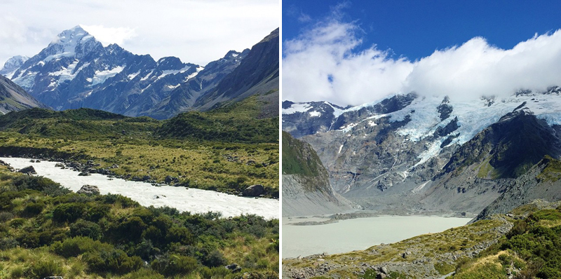 Mount Cook hike