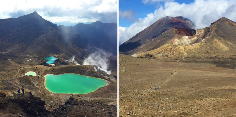 Tongariro Alpine Crossing New Zealand